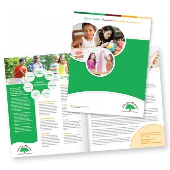 Brochure Design for Arbor View Montessori School